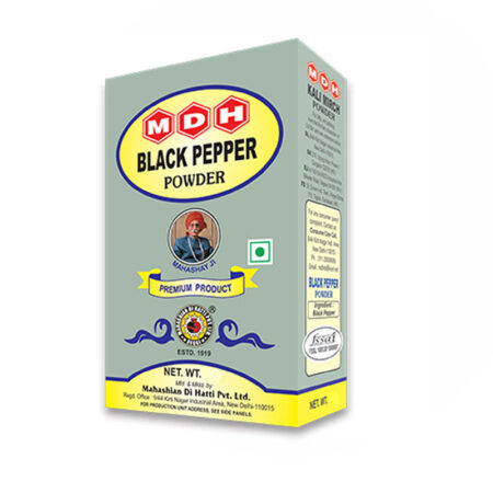 MDH Black Pepper Powder (Kali Mirch) 100g