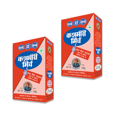 MDH Kashmiri Mirch Powder (100g) Pack of 2