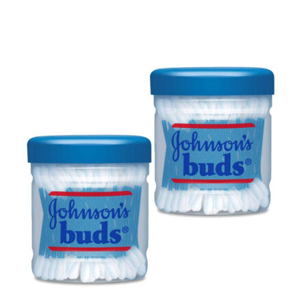 Johnson's Buds (150 Swabs) Pack of 2