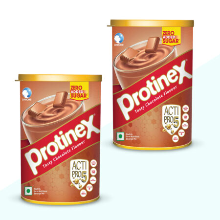 ProtineX Tasty Chocolate Flavour (250g) Pack of 2