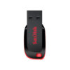 SanDisk Cruzer Blade SDCZ50-I35 USB 2.0 128GB Pen Drive (Red and Black)