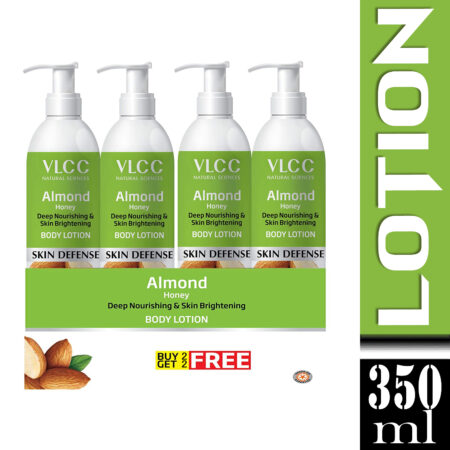 VLCC Almond Honey Body Lotion, 350ml Buy 2 Get 2 free