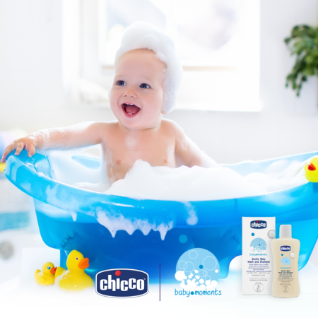 Chicco Baby Moments Gentle Body Wash and Shampoo 500ml