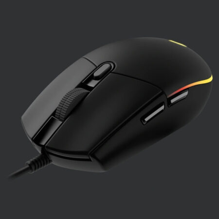 Logitech G102 Light Sync Gaming Mouse with 6 Programmable Buttons, (Black)