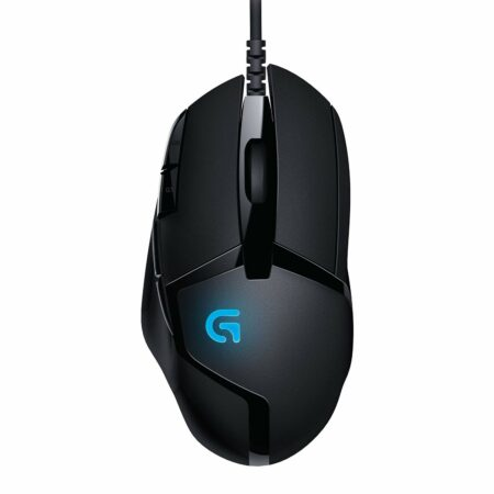Logitech G402 Hyperion Fury Wired Gaming Mouse, 4000 DPI, Compatible with PC/Mac – Black