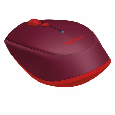 Logitech M337 Wireless Mouse, Bluetooth, 1000 DPI (Red)