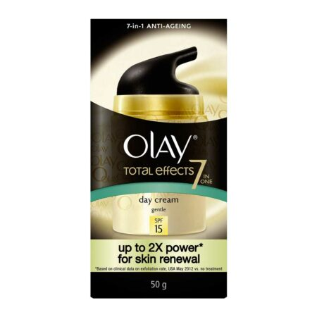 Olay Total Effects 7 in 1 Anti Aging Skin Cream Moisturizer Gentle SPF15 50gm