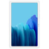 Samsung Galaxy Tab A7, Slim Metal Body, Quad Speakers with Dolby Atmos, RAM 3 GB, ROM 32 GB Expandable, Wi-Fi-only, Silver (Front)