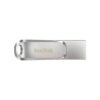 SanDisk Ultra Dual Drive Luxe Type C Flash Drive Silver