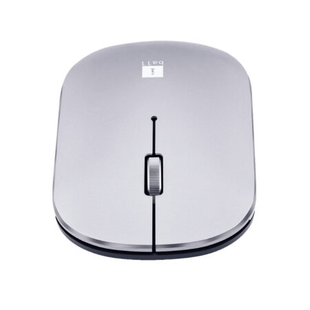 iBall G1000 Metal Premium Wireless Mouse with USB Receiver (Silver)