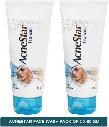 Mankind Acnestar Face Wash  50ML (Pack of 2)