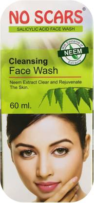 No Scars Neem Extract Face Wash (Pack of 2)