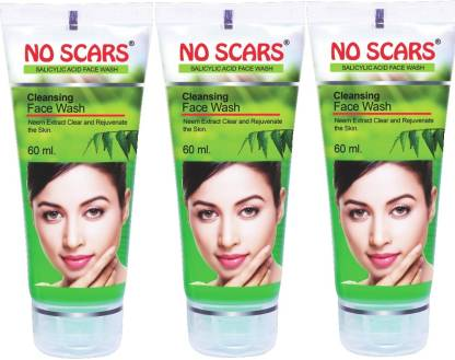 No Scars Neem Extract Face Wash (Pack of 3)