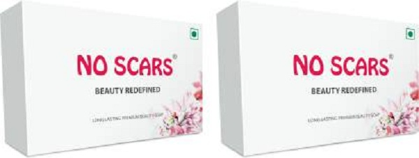 NO SCARS Bathing Soap (Pack of 2)