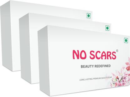 NO SCARS Bathing Soap (Pack of 3)
