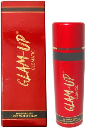 Glam-Up glomatic moisturising light makeup cream 34 gm (Pack of 2)