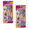 Duvon Disney Princess Toothbrush Extra Soft (Pack of 3) Pack of 2