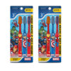 Duvon Marvel Toothbrush Extra Soft 3 Pcs Pack of 2