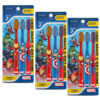 Duvon Marvel Toothbrush Extra Soft, 3 Pcs Pack of 3