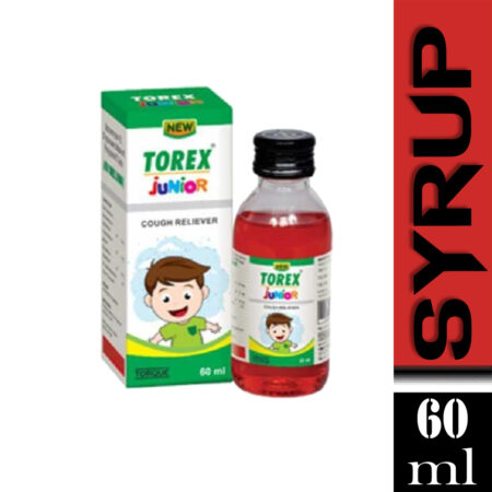 New Torex Junior Cough Syrup, 60 ml