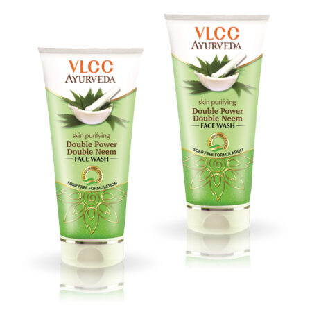 Ayurveda Skin Purifying Double Power Double Neem Face Wash (100ml) Pack of 2