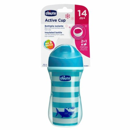 Chicco Active Cup for Boys, Light (Blue) 14M+