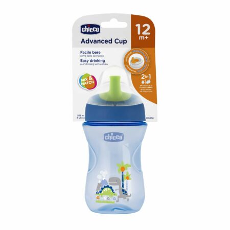 Chicco Advanced Sipper Cup 200 ml (12 Months) (Royal Blue)