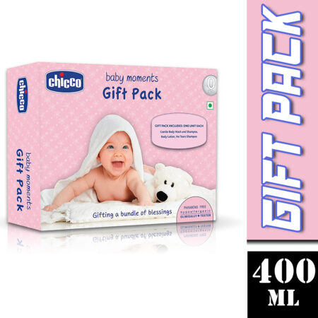 Chicco Baby Moments Gift Pack (Pink)