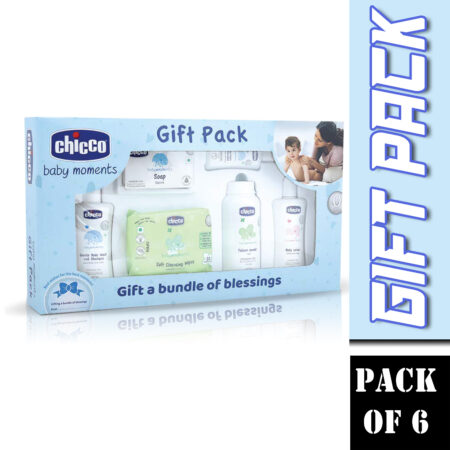 Chicco Sweet Surprise Gift Set-Blue, Pack of 6