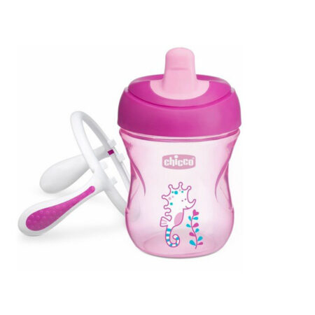 Chicco Training Cup 200 ml (6M+ (Pink)