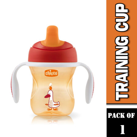 Chicco Training Sipper Cup 200 ml (6 Months) (Orange)