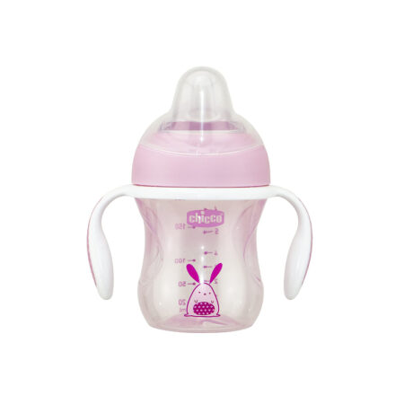 Chicco Transition Cup 200 ml (4m+) (Pink)