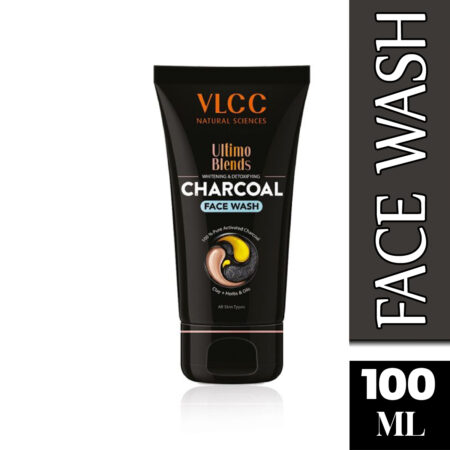 Vlcc Ultimo Blends Charcoal Face Wash For Whitening & Detoxifying (100ml) Pack of 2