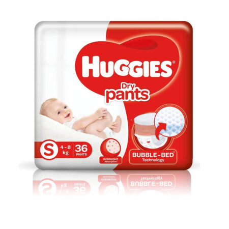 Huggies Dry pants Small – S (36 Pieces)