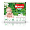 Huggies Nature Care Pants, Medium (M) Size Baby Diaper Pants, 62 Count, Nature's gentle protection