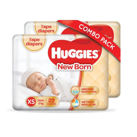 Huggies Ultra soft – Extra Small (44 Pieces)