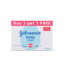 Johnson's Baby Soap For Bath Combo Offer Pack, 100 g (Buy 3 Get 1 Free)