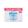 Johnson's Baby Soap For Bath Combo Offer Pack, 150g (Buy 3 Get 1 Free)