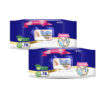 MamyPoko Extra clean wipes with Aloe vera - Pack of 2 pC