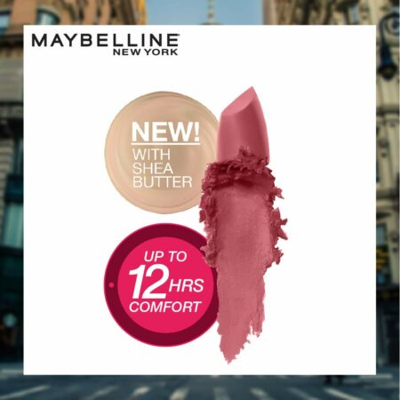 Maybelline New York Color Sensational Creamy Matte Lipstick 660 Touch of Spice