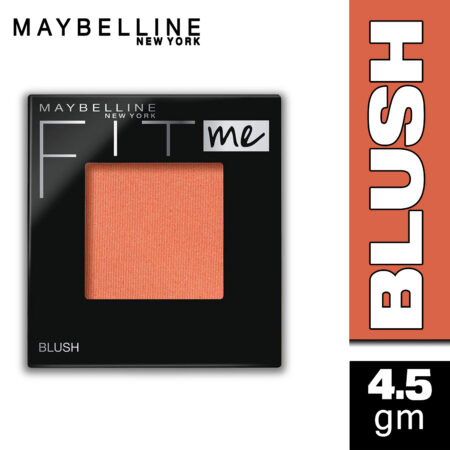 Maybelline New York Fit Me Blush, Nude Peach, 4.5g
