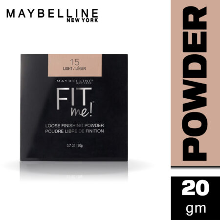 Maybelline New York Fit me Loose Finishing Powder, 15 Light, 20g