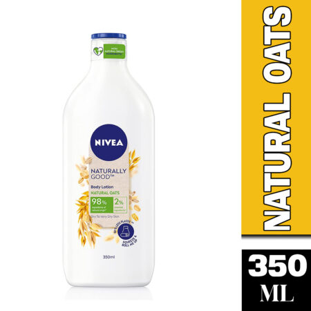 NIVEA Naturally Good, Natural Oats Body Lotion, For Dry to Very Dry Skin 350ml