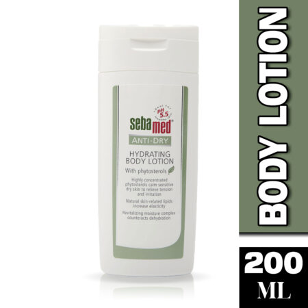 Sebamed Anti-Dry Hydrating Body Lotion 200ml (Pack of 2)