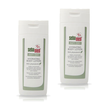 Sebamed Anti-Dry Hydrating Body Lotion 200ml Pack of 2