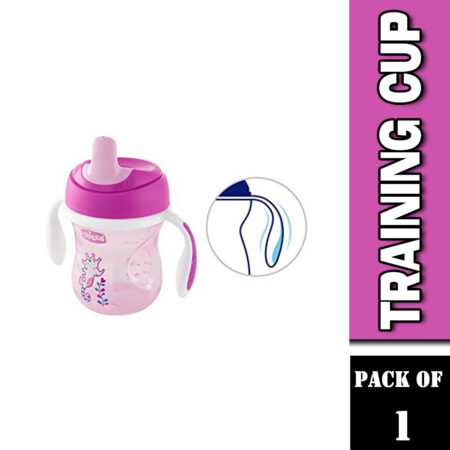 Chicco Training Cup 200ml (6M+ (Pink)