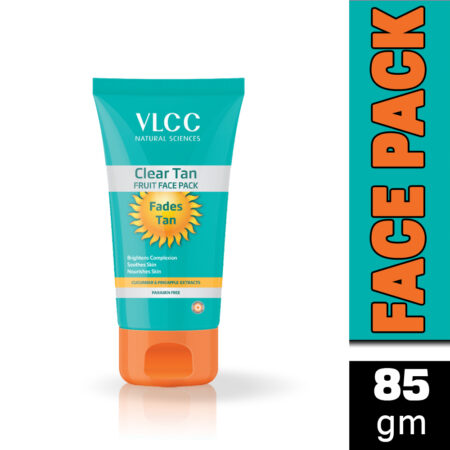 VLCC Clear Tan Fruit Face Pack (85gm) Pack of 2