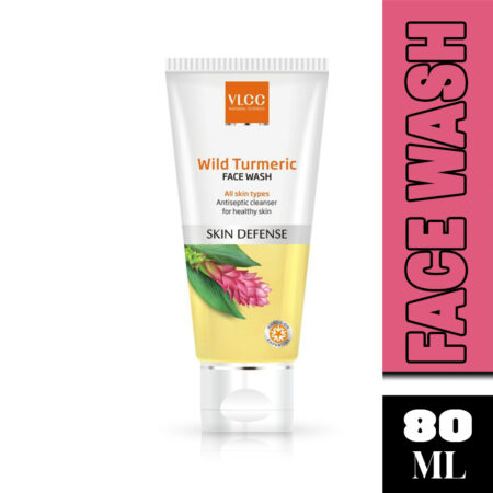 VLCC Wild Turmeric Face Wash (80ml) Pack of 2