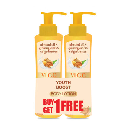 VLCC Youth Boost Body Lotion SPF 25| PA+++ (Buy 1 Get 1)(Each 400ml)