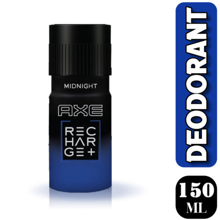 Axe Recharge Midnight Deodorant, 150ml (Pack of 2)